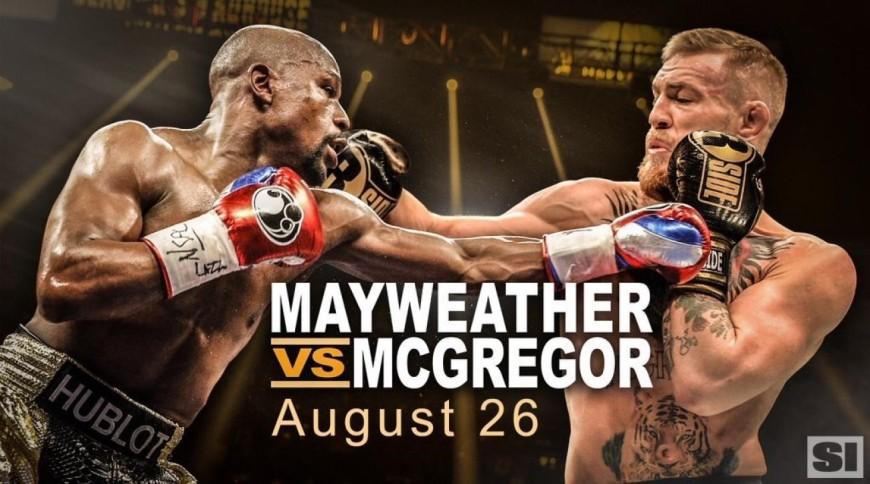 Mayweather vs Mcgregor, le combat du siècle